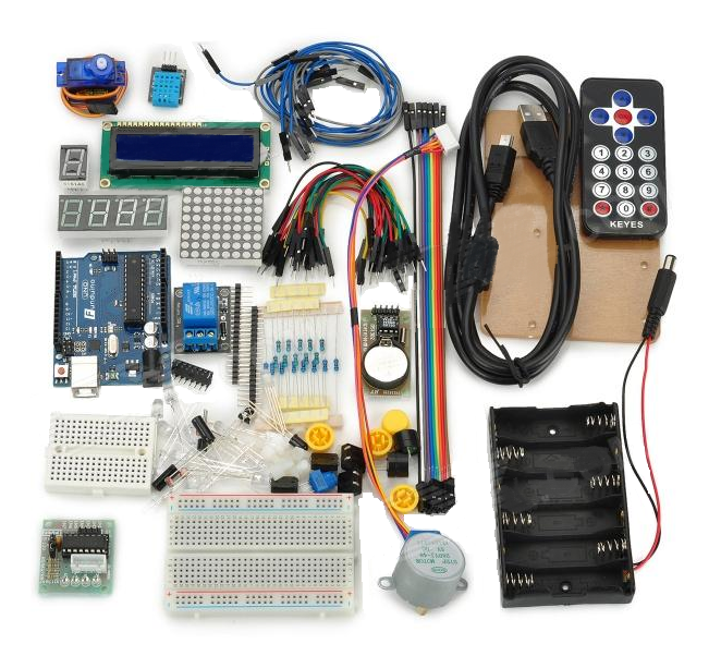 Keyes arduino starter kit with funduino uno for users