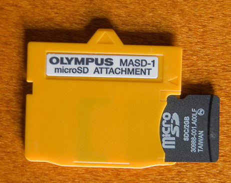 Olympus Xd To Microsd Transflash Adapter In Category Convertors