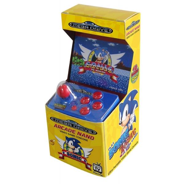 Κονσόλα Sega Mega Drive Sonic Arcade Nano (T.V Set) ...